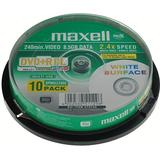 Maxell DVD+R 8x, Double Layer, printable, 10 pack