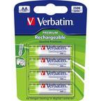 Verbatim laddningsbara batterier, AA