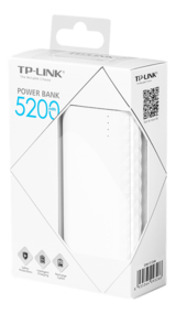 TP-Link TP-PB5200 - 5200mAh Power Bank, Lithium-ion, vit