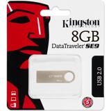 Kingston DTSE9H/8GB USB 2.0 minne, DataTraveler SE9, 8GB, champagne-färgad
