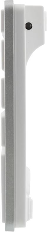 Deltaco trådlöst tangentbord, svensk layout, Bluetooth, 10m räckvidd, silver