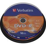 Verbatim DVD-R 16x, 10 pack