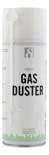 "Deltaco komprimerad gas i sprayburk, (typ ""tryckluft"") 400ml"