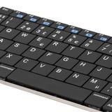 DELTACO trådlöst minitangentbord, nordisk layout, Bluetooth, 10m räckvidd, svart
