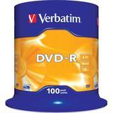Verbatim DVD-R 16x, 100 pack