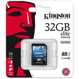 Kingston minneskort, SDHC, 32GB, UHS-I Ultimate, Class 10, G3