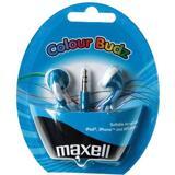 Maxell Colour Budz öronsnäckor, 1,2m kabel, blå