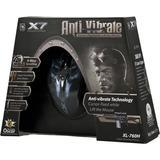 A4Tech X7 Anti-vibrate spelmus, svart/blå