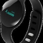 STREETZ Smart fitnessklocka, 39mm, Bluetooth 4.0, Android/iOS, svart/vit/rosa