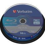 Verbatim BD-R DL, 6x, 50GB, 10-pack