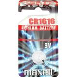 Maxell knappcellsbatteri, CR1616, Lithium, 3V, 1-pack