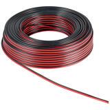 Goobay högtalarkabel, 2x4,0mm, röd/svart, rulle om 10m