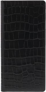 Smart Stand Diarycase - Plånboksfodral i äkta läder för iPhone 6, krokodilmönster