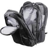 """Deltaco notebookryggsäck, upp till 15,6"""", bärhandtag, 2 fack, svart"""