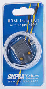 SUPRA HDMI Install Kit MET-B/Nylon Braid