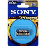 SONY CR123A Lithium Photo batteri 3Volt, 1-pack