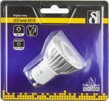 Deltaco LED-lampa, GU10, varmvitt ljus, 5W
