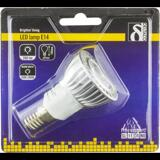 Deltaco LED-lampa, E14, varmvitt ljus, 5W