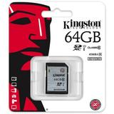 Kingston minneskort, SDXC, UHS-I Class 10, 64GB