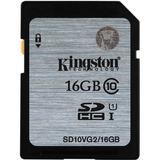 Kingston minneskort, SDHC, UHS-I Class 10, 16GB