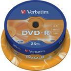 Verbatim DVD-R 16x, 25 pack
