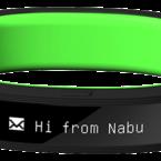 Razer Nabu Aktivitetsband, OLED display och vibration, upp till 6 dagar batteri-tid, iOS/Android
