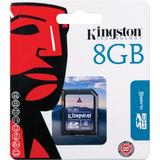 Kingston minneskort, SDHC, Class 4, 8GB