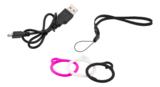 STREETZ Smart fitnessklocka, 38mm, Bluetooth 4.0, Android/iOS, aluminium, svart/vit/rosa