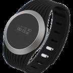 STREETZ Smart fitnessklocka, 43mm, Bluetooth 4.0+EDR, Android/iOS, aluminium, svart/vit/rosa