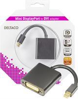 Deltaco mini DisplayPort till DVI-D Single Link adapter