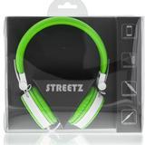 STREETZ headset för iPhone, hopfällbar, grön