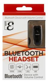 EPZI Mono Bluetooth headset, V3.0+EDR, 4h taltid, 75h standby, VoIP, svart