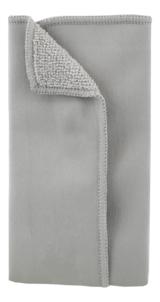 Deltaco Microfiberduk, för rengöring av alla typer av bildskärmar, 180x150mm, 2-delad, grå