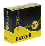 Maxell CD-R 52x, slim case, 10-pack